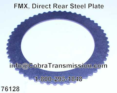 FMX, Direct Rear Steel Plate