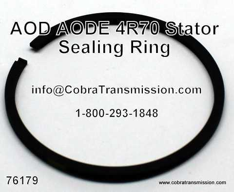 AOD, AODE, 4R70 Series Stator Sealing Ring