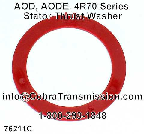 AOD, AODE, 4R70 Series Stator Thrust Washer
