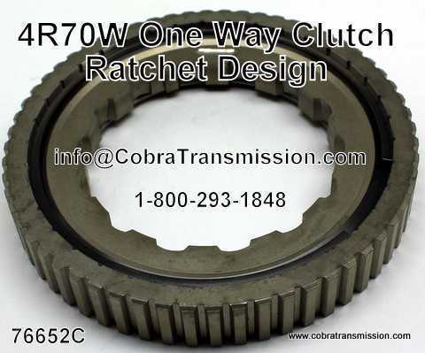 4R70W One Way Clutch, Ratchet Design