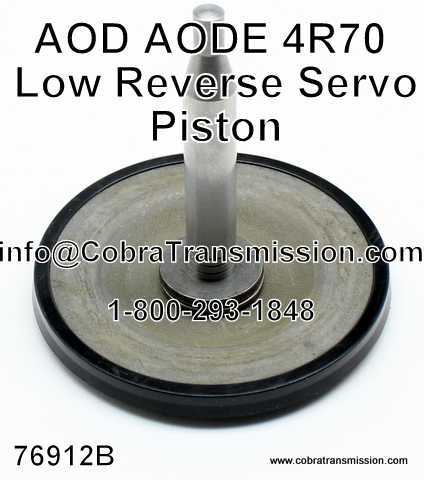 AOD, AODE, 4R70 Series Piston, Low/ Reverse Servo