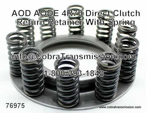 AOD, AODE, 4R70 Serie Reten con Resorte, Retorno Embrague Direct