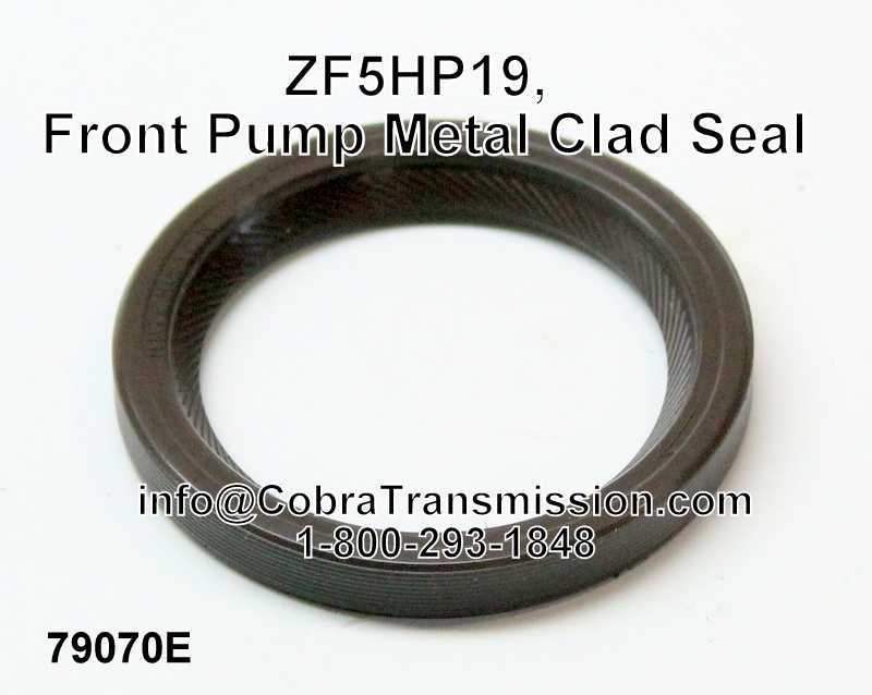 ZF5HP19 Front Pump Metal Clad Seal