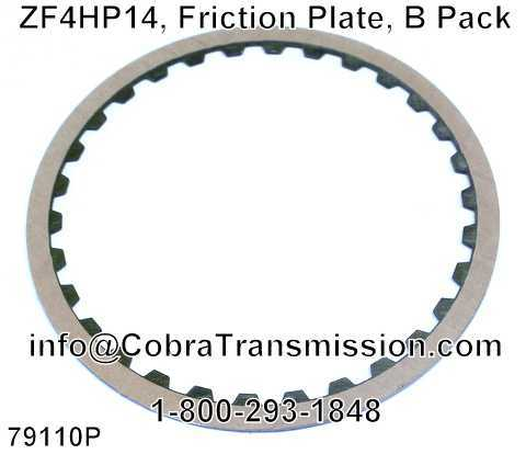 ZF4HP14, Friction Plate, B Pack