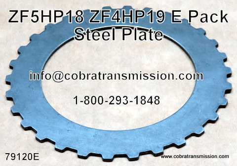 ZF5HP19, Steel Plate, E Pack