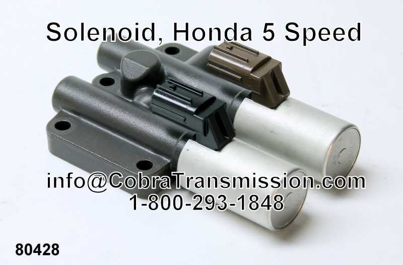Solenoid, Honda 5 Speed