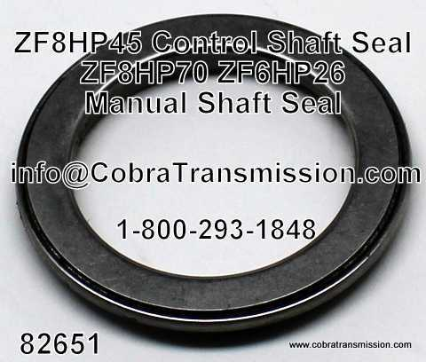 ZF-8HP45, DL501-7Q Seal, Control Shaft