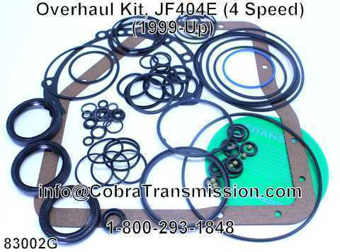 Overhaul Kit, JF404E (4 Speed) (1999-Up)
