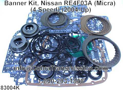 Banner Kit, Nissan RE4F03A (Micra) (4 Speed) (2004-Up)