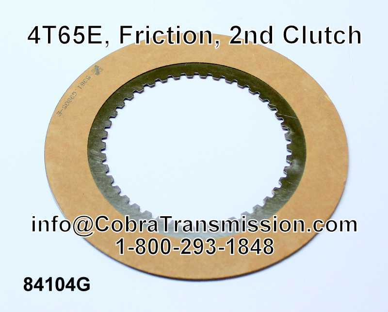 4T65E, Friction, 2nd Clutch