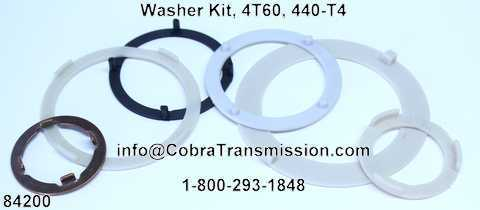 Washer Kit, 4T60, 440-T4