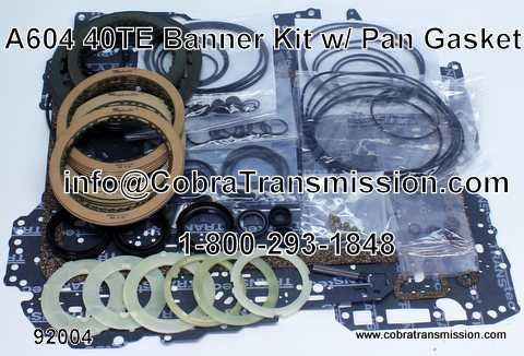 Banner Kit, A604 (40TE) with Pan Gasket (2004-Up)