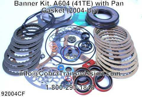 Banner Kit, A604 (41TE) with Pan Gasket (2004-Up)
