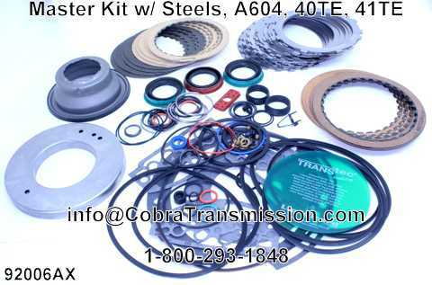 Master Kit w/ Steels, A604, 40TE, 41TE