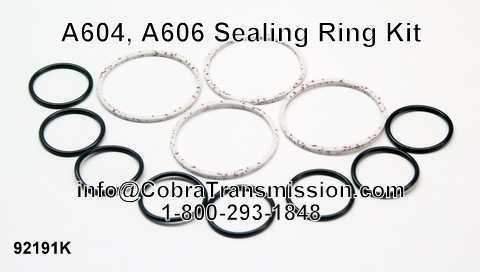 A604, A606 Sealing Ring Kit