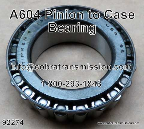 A604 Bearing, Pinion to Case