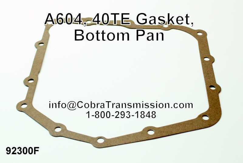 A604, 40TE Gasket, Bottom Pan