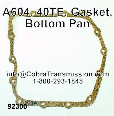 A604, 40TE, Gasket, Bottom Pan