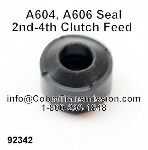 A604, A606 Seal, 2nd-4th Clutch Feed