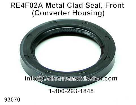 RE4F02A Metal Clad Seal, Front (Converter Housing)