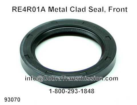 RE4R01A Metal Clad Seal, Front
