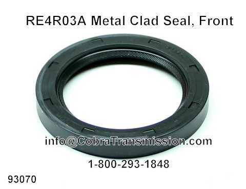 RE4R03A Metal Clad Seal, Front