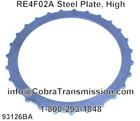 RE4F02A Steel Plate, High