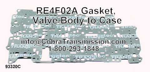 RE4F02A Gasket, Valve Body to Case