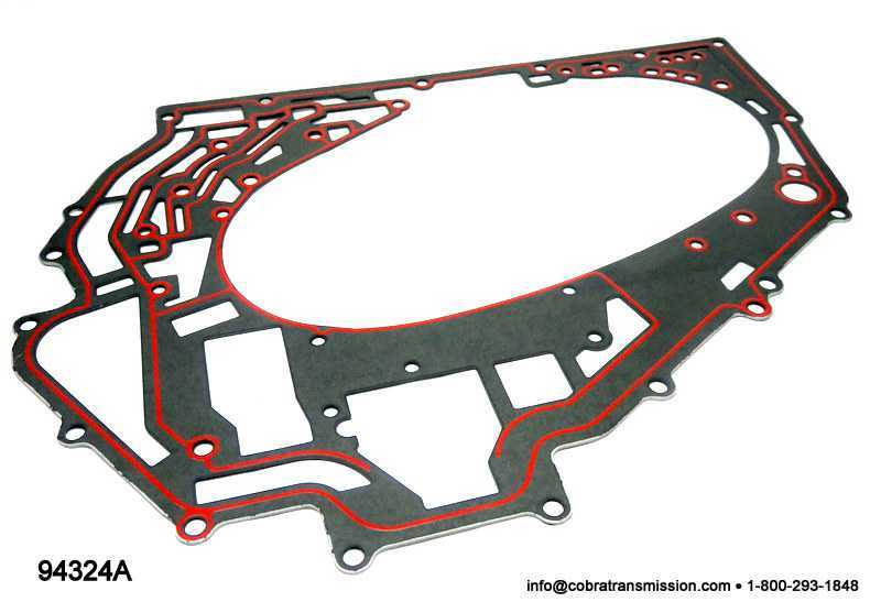 4T80E Gasket, Channel Plate