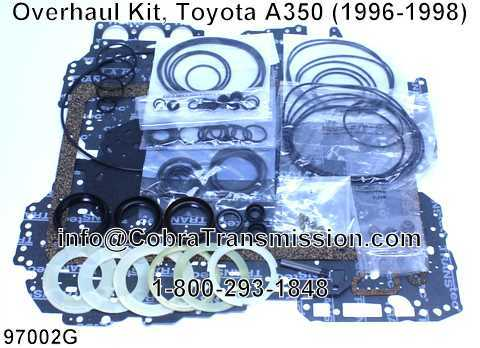 Overhaul Kit, Toyota A350 (1996-1998)