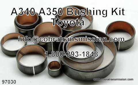 Bushing Kit, Toyota A340 Series