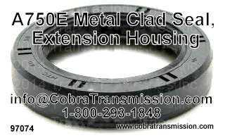 A750E Metal Clad Seal, Extension Housing