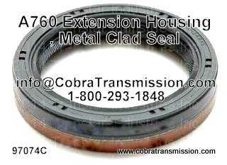 A760 Extension Housing, Metal Clad Seal