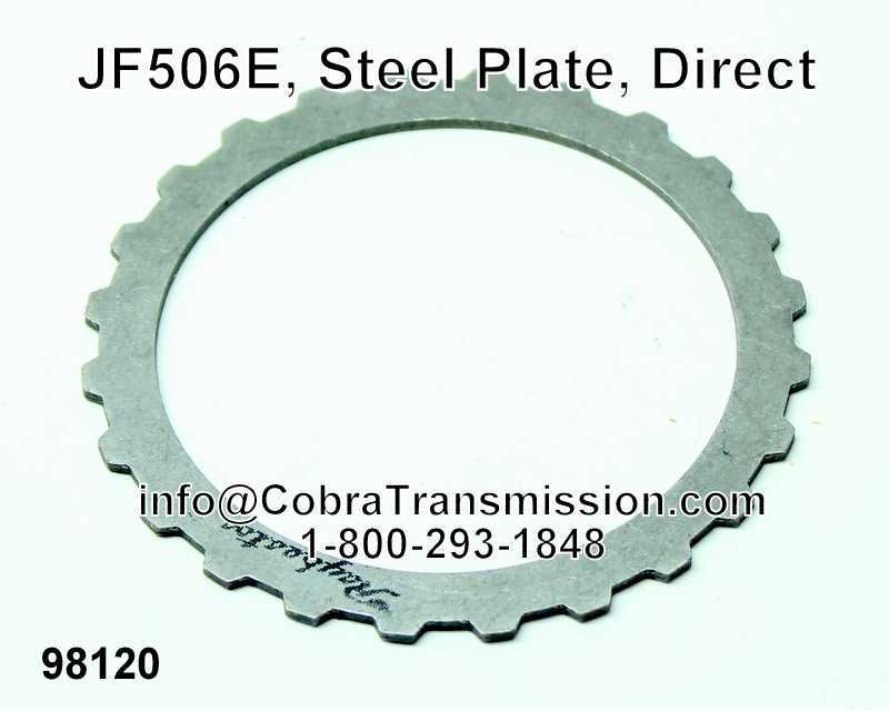 JF506E, Steel Plate, Direct