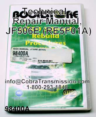 Technical - Repair Manual, JF506E (RE5F01A)