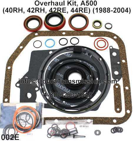 Overhaul Kit, A500 (40RH, 42RH, 42RE, 44RE) (1988-2004)