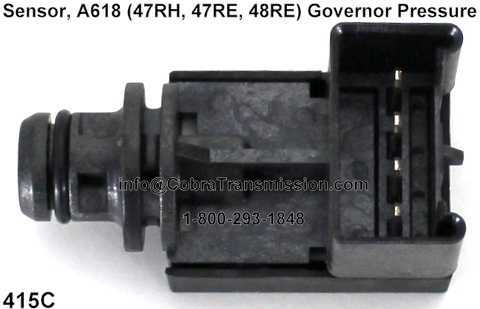 Sensor, A618 (47RH, 47RE, 48RE) Governor Pressure