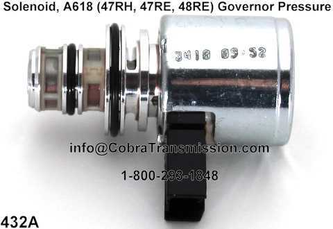 Solenoid, A618 (47RH, 47RE, 48RE) Governor Pressure