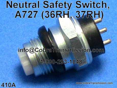 Neutral Safety Switch, A727 (36RH, 37RH)