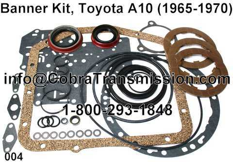 Banner Kit, Toyota A10 (1965-1970)