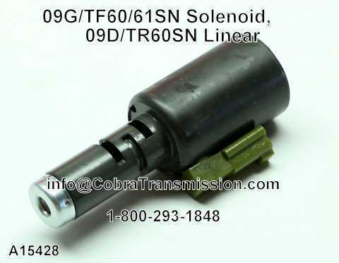 09G/TF60/61SN Solenoide, 09D/TR60SN Linear