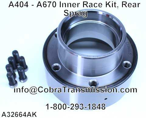 A404 - A670 Inner Race Kit, Rear Sprag