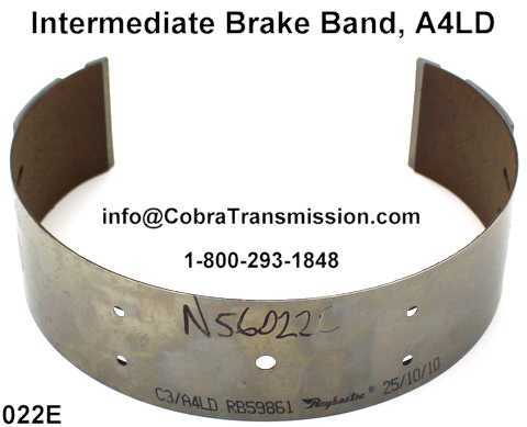 Intermediate Brake Band, A4LD