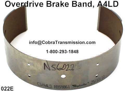 Overdrive Brake Band, A4LD