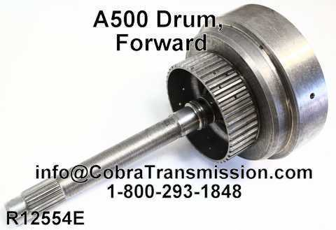 A500 Drum, Forward