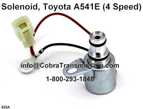 Solenoide, Toyota A540 (4 Speed)