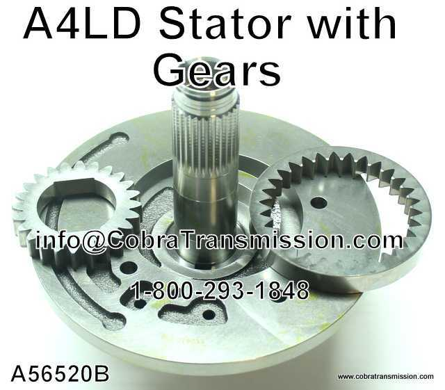 A4LD Stator with Gears