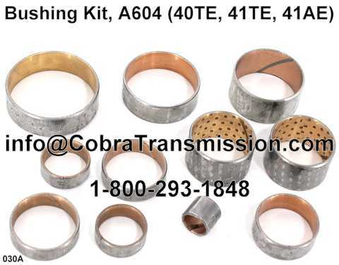 Bushing Kit, A604 (40TE, 41TE, 41AE)