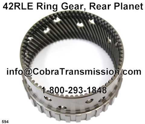 42RLE Ring Gear, Rear Planet