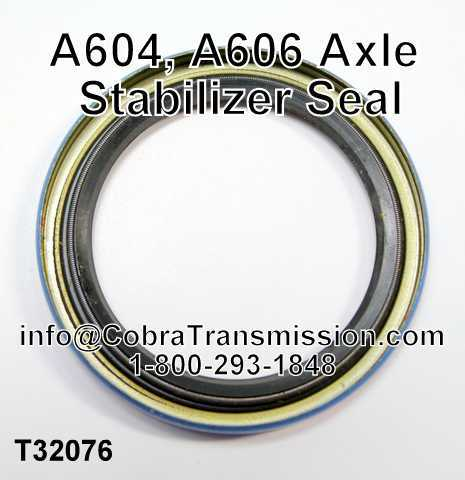 A604, A606 Axle Stabilizer Seal